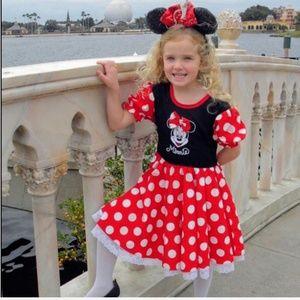 Authentic Disney parks Minnie Mouse dress